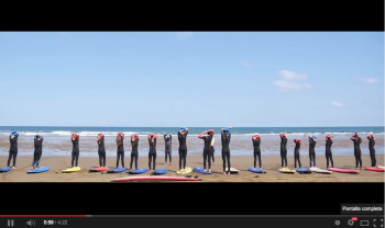 Compartir Video del Surf Camp tercera y cuarta semana de julio Bilbao en facebook